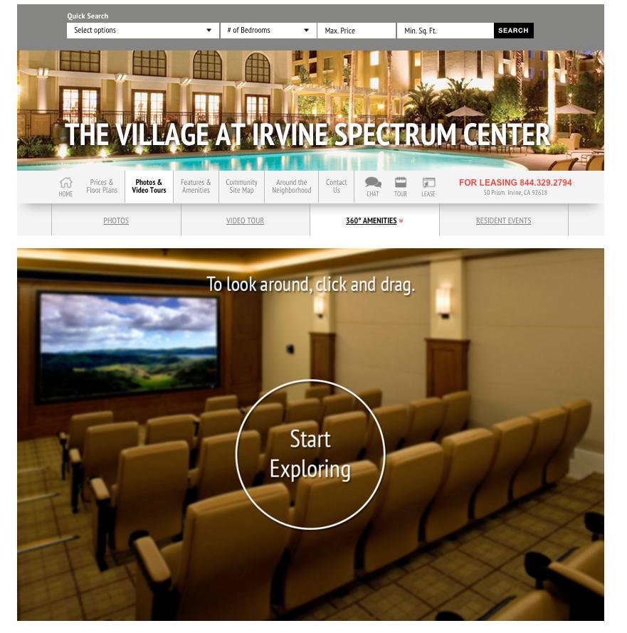 The Village -Irvine Spectrum -Apartments in Irvine -360 Tour