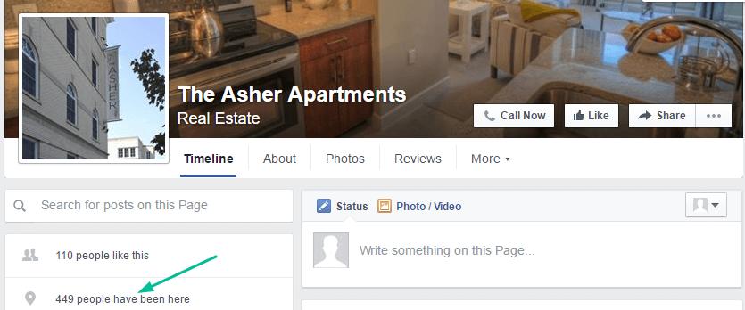 Facebook Apartment Marketing