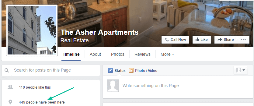 Facebook Apartment Marketing