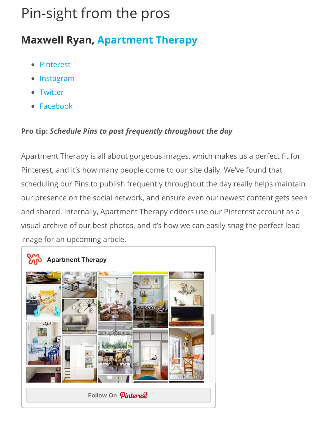 Apartment Marketing Pinterest