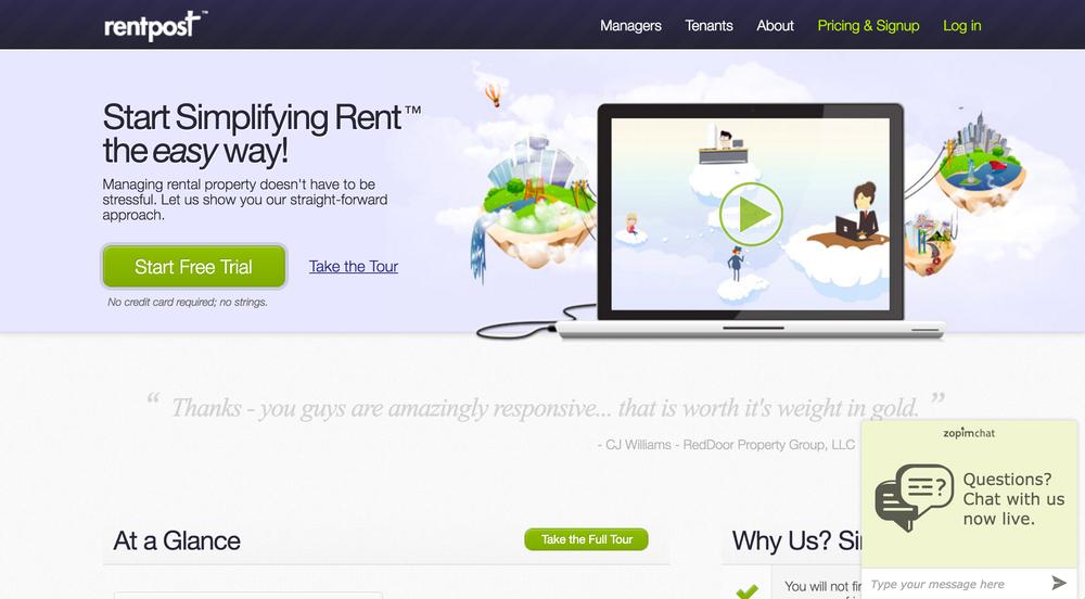 RentPost Online Property Management Software