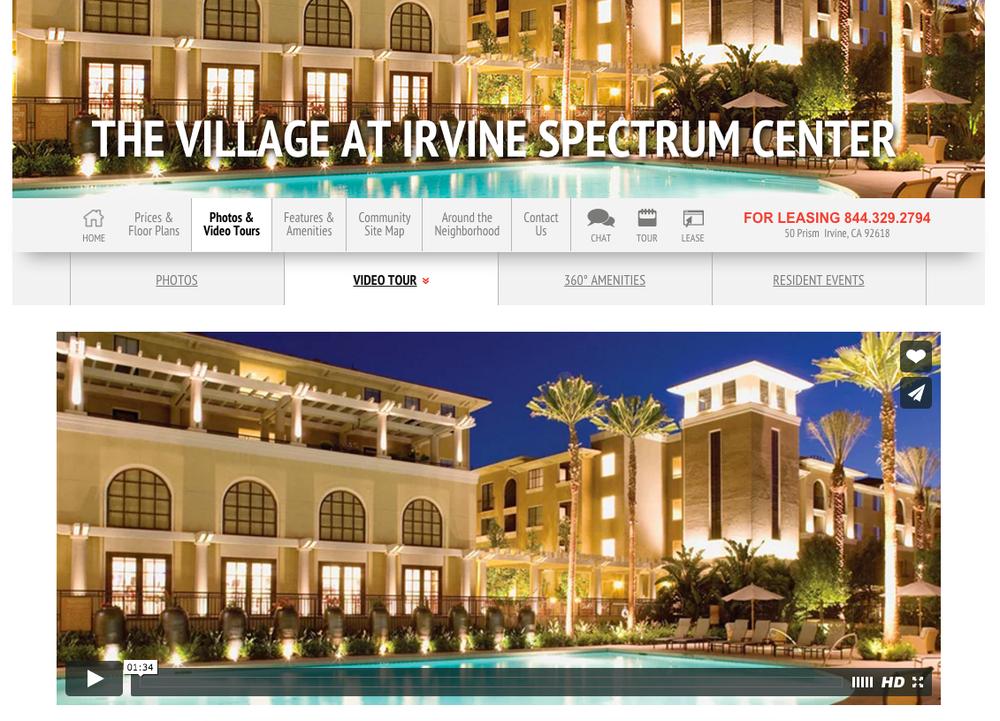 The Village at Irvine Spectrum Center video screenshot