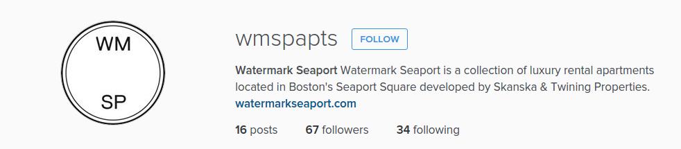 Instagram profile bio screenshot