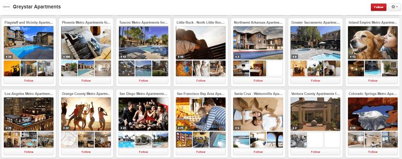 Greystar Pinterest Apartment Marketing