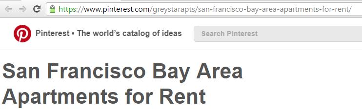 Pinterest URL Optimization