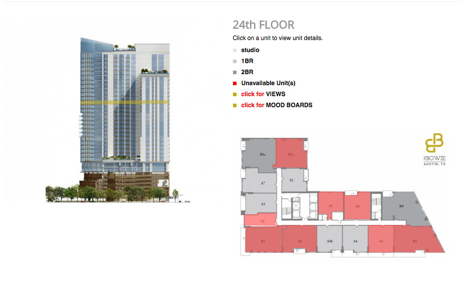 24th Floor units available