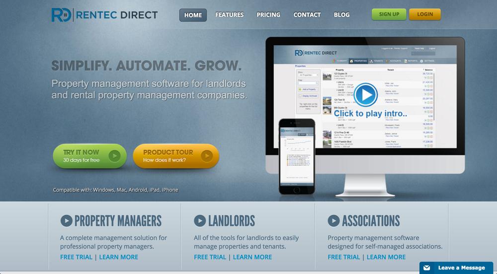 Rentec Direct Property Management Software