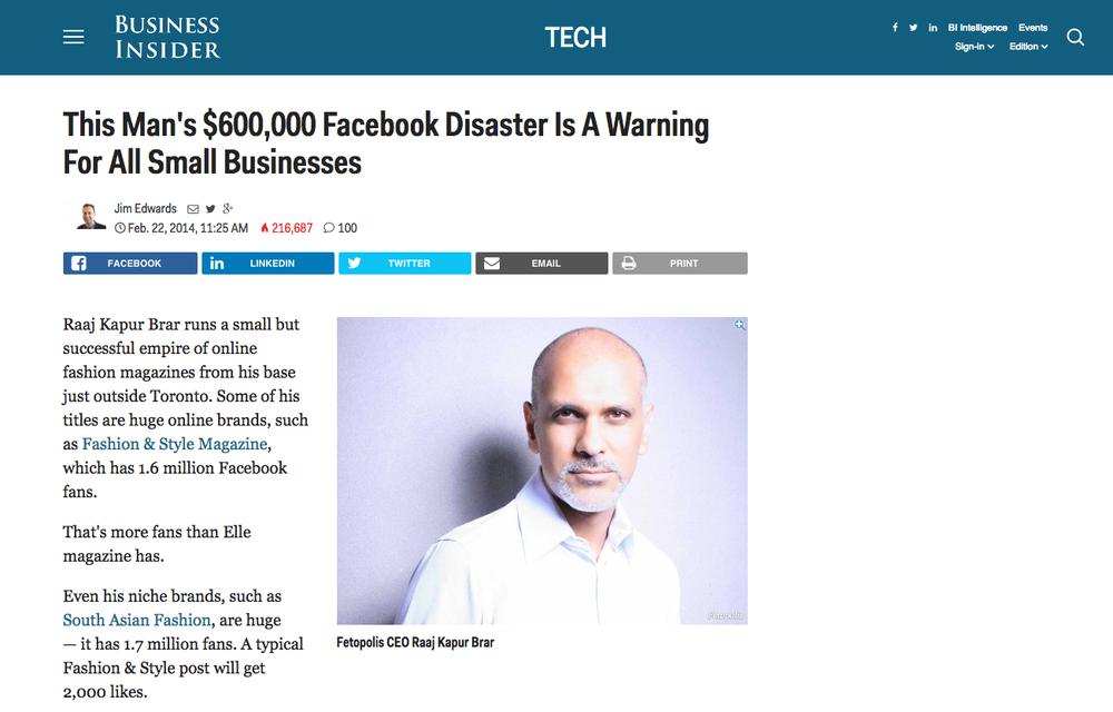 $600,000 Facebook Disaster