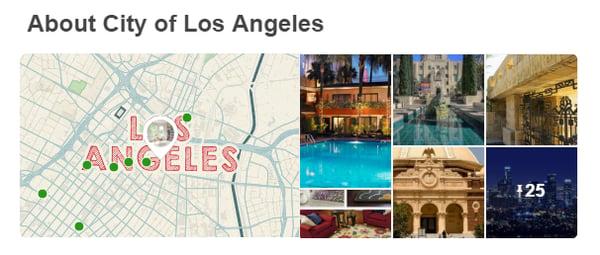 Pinterest location information