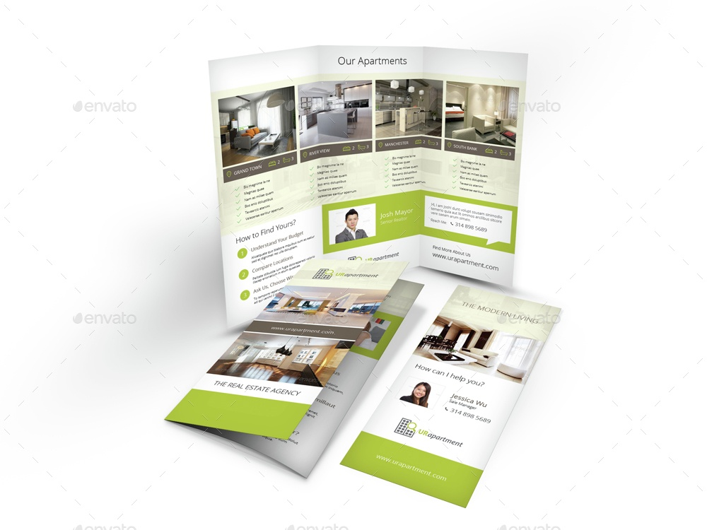 GraphicRiver brochure example