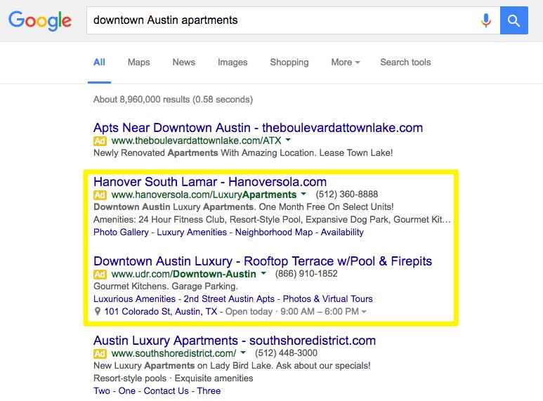 downtown Austin apartments -Google Search