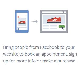 Facebook ads graphic.