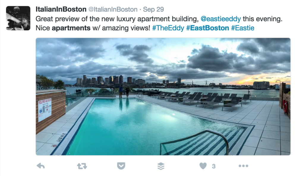 Twitter search results for east boston luxury highrise