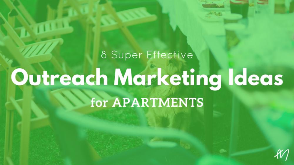 Outreach Marketing Ideas Apartments