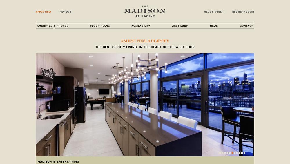 Madison Racine Apartment Pic